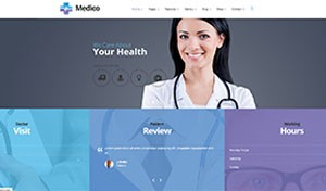Medico - Medical  Veterinary WP Theme